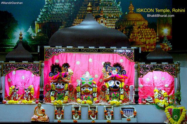 श्री श्री राधा माधव मंदिर (Sri Sri Radha Madhav Mandir) - Sector-25, Rohini New Delhi - 110085 Delhi New Delhi