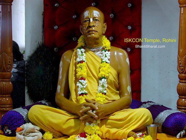 दिल्ली के प्रसिद्ध ISKCON मंदिर