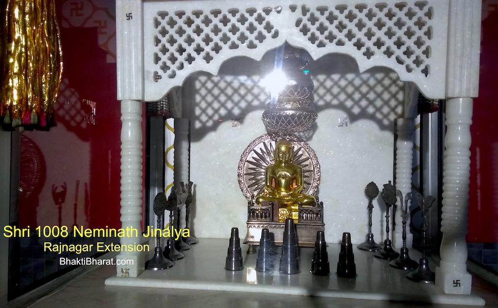 Jain Mandir, Rajnagar Extension
